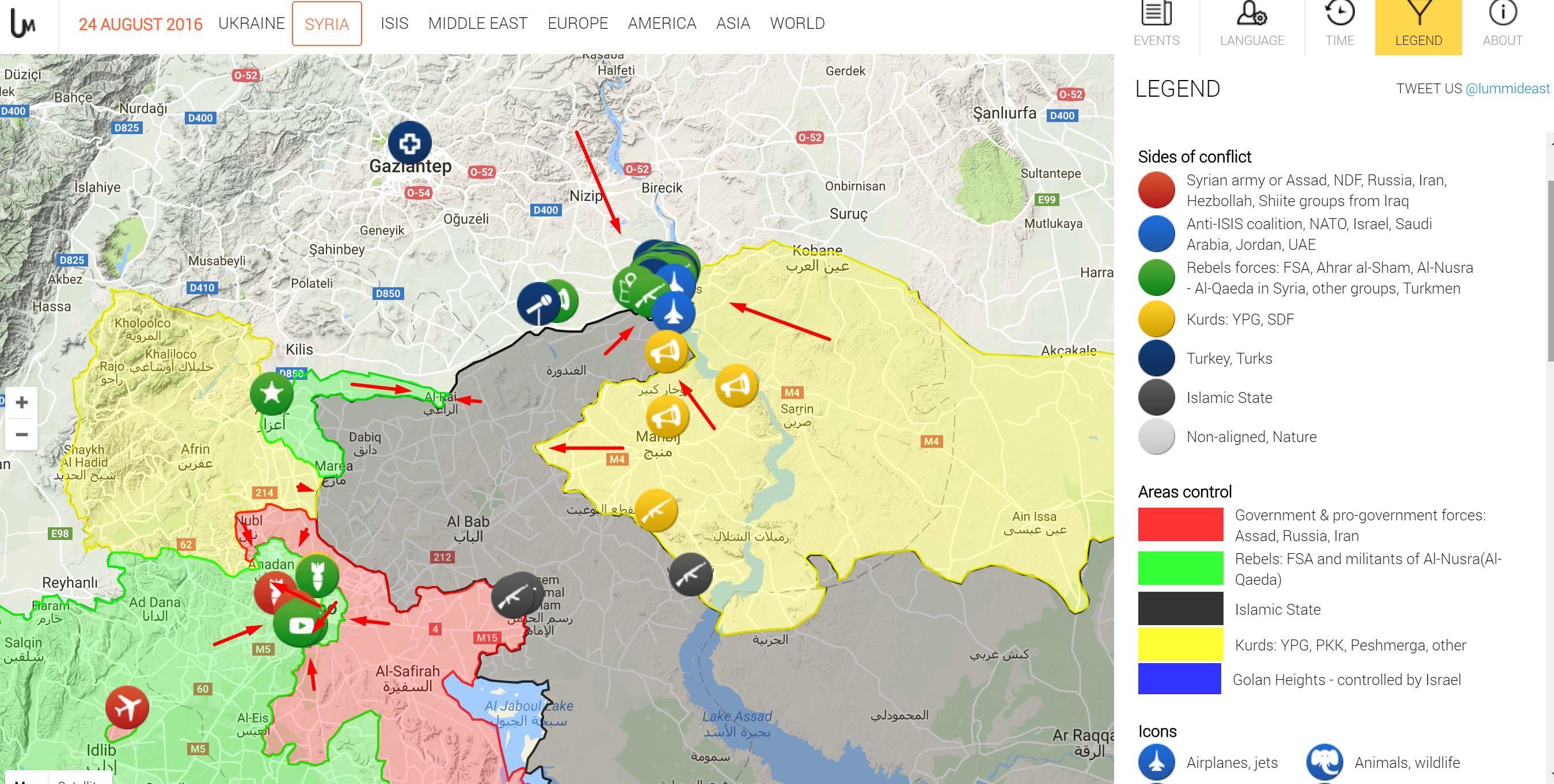 Turkey Invades Syria; US Warns Kurdish Groups To Withdraw To ... on
